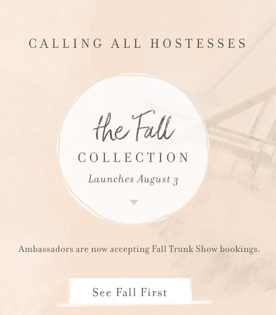 Host a Trunk Show and See Fall first